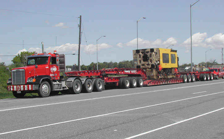 Types of Equipment Moving Trucks