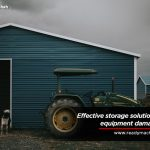 Tips to Protect Heavy Equipment in Storage