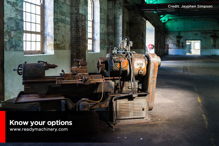 How to Safely Dispose of Old Machinery Ready Machinery