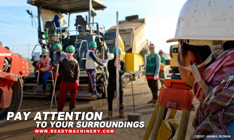 Keeping Yourself Safe Around Heavy Equipment