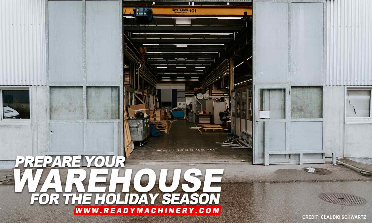 How to Get Your Warehouse Ready for the Holidays