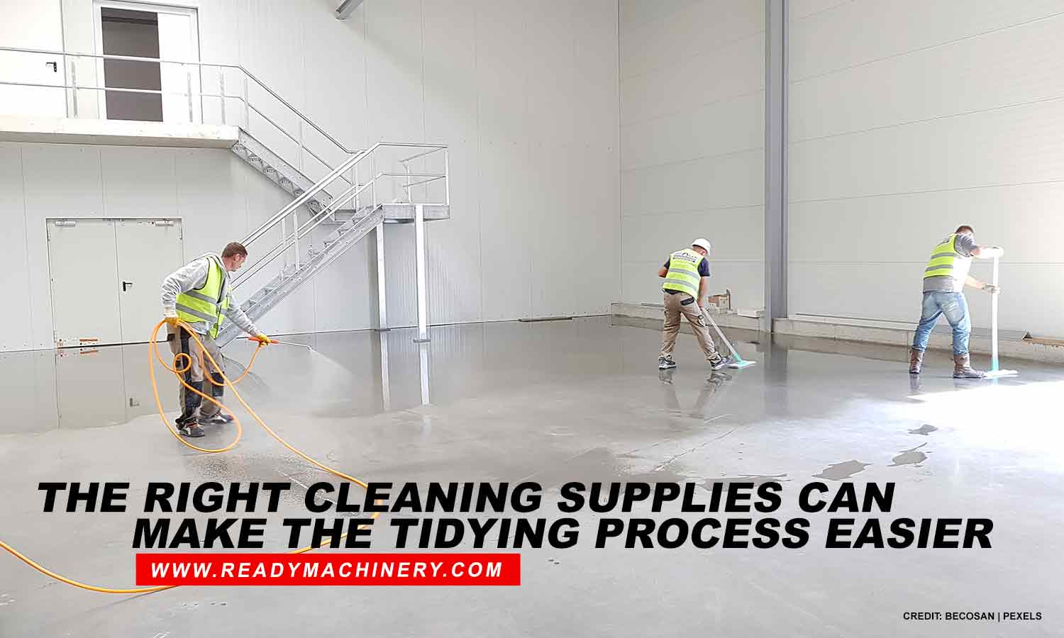 Advantages of a Clean and Clutter-Free Warehouse
