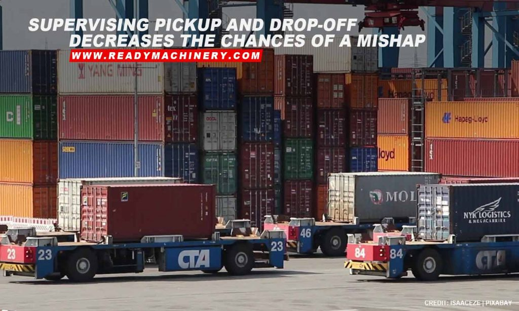 Supervising pickup and drop-off decreases the chances of a mishap
